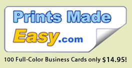 Quick & Easy Online Business Card & Promotional Printing